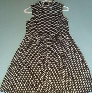 Classy tank dress with keyhole back